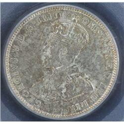 1917 Shilling PCGS MS64