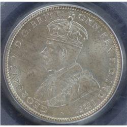 1931 Shilling PCGS MS64