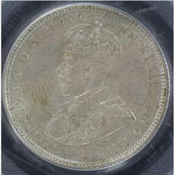 1934 Shilling PCGS MS63