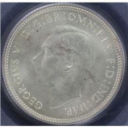 1943 Shilling PCGS MS64