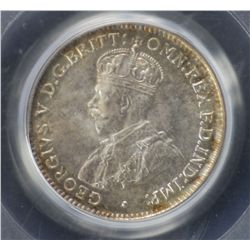 1921M Threepence PCGS MS65