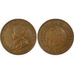 1925 Penny Penny PCGS AU 50