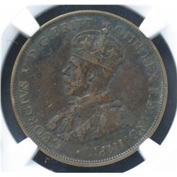 1925 Penny NGC VF 25 BN