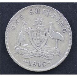 1915 Shilling Fine