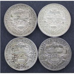 1927 Canberra Florins Lot of 4