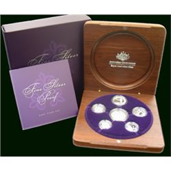 2007 Fine silver set