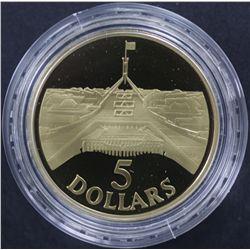 1988 $5 Proofs Lot