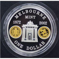 Melbourne Mint Dollar & Queen Mother $5