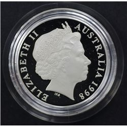 2000 Royal Visit 50c Proof, 1998 $1 silver Parliament 10 years on