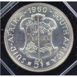 South Africa Crowns 1947 EF & 1960 BU