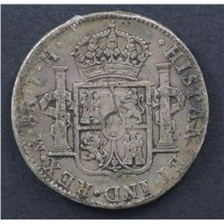 Mexico 8 Reales , Proclomation coins