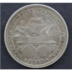USA 50c Colombian Exhibition of 1893 VF
