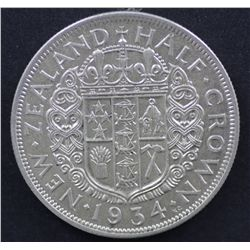 New Zealand ½ Crown 1935 Extremely Fine