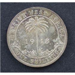 British West Africa Shilling 1913