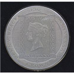 Isle man Crown Pobjoy mint