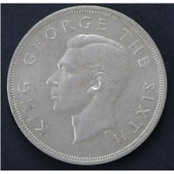 11 1949 New Zealand Crowns- Nearly Uncirculated