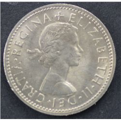 50 1960 Scottish Shillings B.Uncirculated