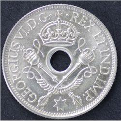 40 1938 New Guinea Shilling, All coins exceptional Grade Gem Unc