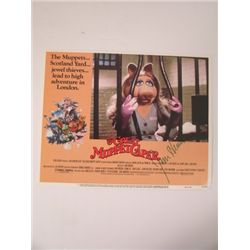 Great Muppet Caper Jim Henson Signed Lobby Card