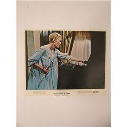 Rosemary's Baby Mia Farrow Signed Lobby Card