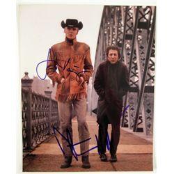 Midnight Cowboy Jon Voight Dustin Hoffman Autograph Photo