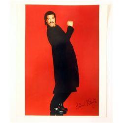 Lionel Richie Signed Photo