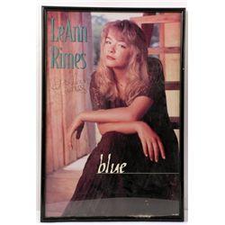 LeAnn Rimes Signed Poster