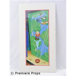 Yosemite Sam/Virgil Ross Orig. Animation Cell. Oversized item. Additional postage required.