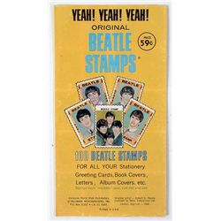 1964 The Beatles Stamp Set