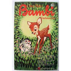 1966 Disney Bambie Colorforms Set