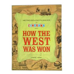 How The West Was Won Official Program
