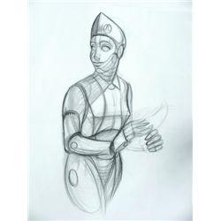 Bicentennial Man Production Drawings
