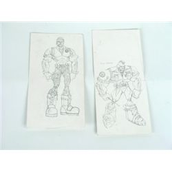 Small Soldiers Production Drawings