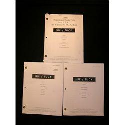 3 Nip/Tuck scripts