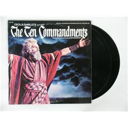 Ten Commandments Original Two-Record Soundtrack Album