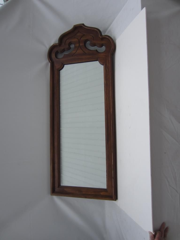 Beautiful Vintage Antique Stroupe Mirror Beautiful Stroupe Large Wall