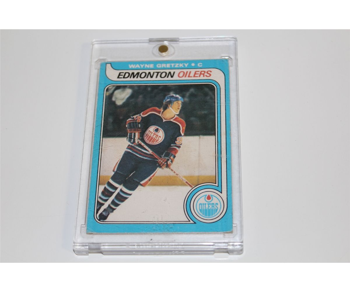Wayne Gretzky Rookie Card Opc Good Condition