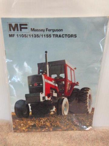 Massey-Ferguson MF 1105/1135/1155 Tractor Brochure