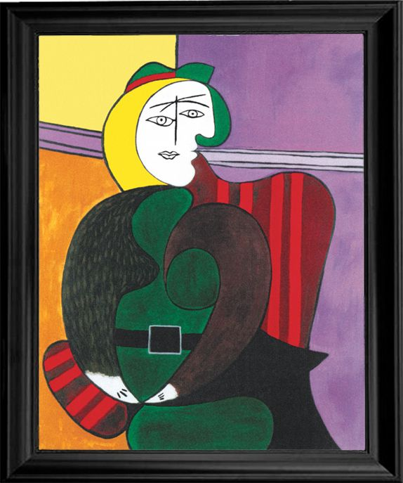 Pablo Picasso WOMAN IN GREEN Estate Signed Limited Edition Giclee Art