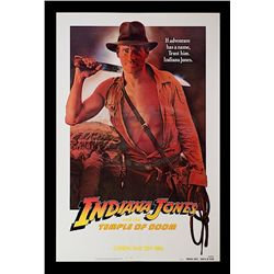 Indiana Jones and the Temple of Doom - Rare White Border Teaser One-Sheet Poster