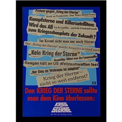 Star Wars: Episode IV - A New Hope - German Re-release 1985 'Headline Style' Poster