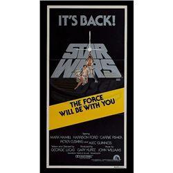Star Wars: Episode IV - A New Hope - Original 1981 Release Australian Daybill Poster