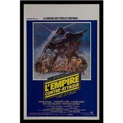 Star Wars: Episode V - The Empire Strikes Back - Belgian Release Poster