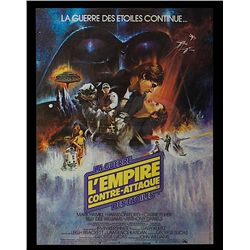 Star Wars: Episode V - The Empire Strikes Back - French Release Style 'A' Poster