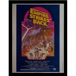 """Star Wars: Episode V - The Empire Strikes Back - Re-release 1982 30"""" x 40"""" Poster"""