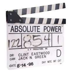 Absolute Power - Production Clapper Board