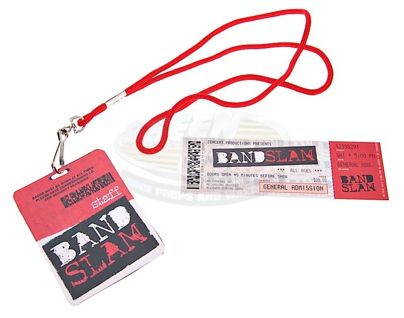 Bandslam amp; Badge Concert - Ticket Id Staff