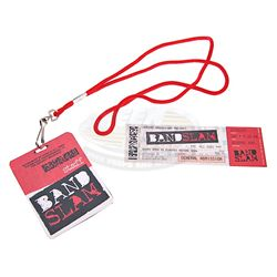 Bandslam - Staff ID Badge & Concert Ticket