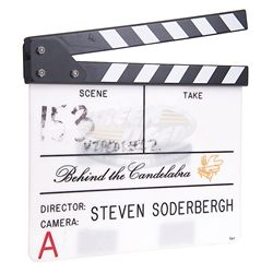 Behind the Candelabra - Production Clapper Board