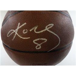 LA Lakers Kobe Bryant Autographed Basketball.